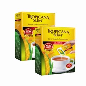 Bộ 2 Hộp Đường Ăn Kiêng Tropicana Slim 50 Gói