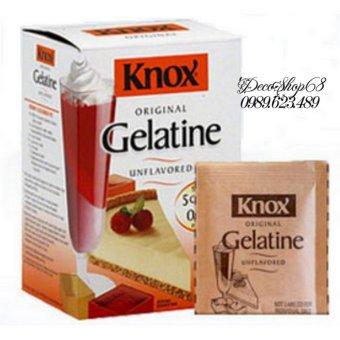Bột Gelatine nhập khẩu Mỹ combo 5 gói Decoshop68