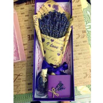 Hộp Quà Tặng Hoa Khô Lavender Hq01