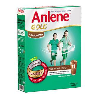 Sữa bột Anlene Gold Bonemax Chocolate 400g (Dạng hộp)