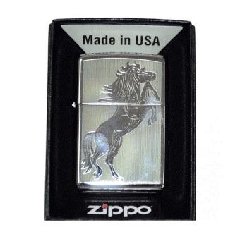 Bật lửa Zippo Mỹ khắc ngựa