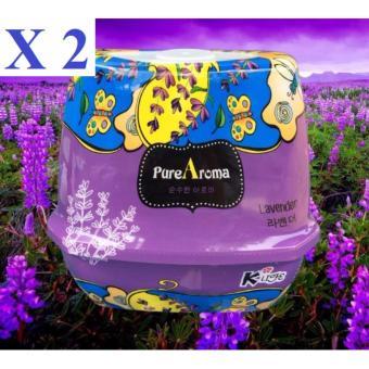Bộ 2 sáp thơm phòng khử mùi PureAroma Korea ( Lavender )
