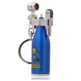 Bật lửa đá xăng Jobon hình chai rượu F506 (Xanh)