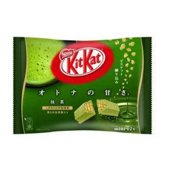 Bánh chocolate Kitkat trà xanh 12 thanh