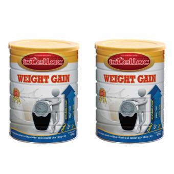 Bộ 2 sữa dành cho người gầy Intellac Weight gain 900g