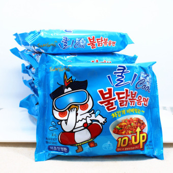 Bộ 10 gói mì cay lạnh Samyang