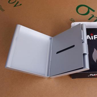 Hộp đựng thuốc lá 20 điếu cao cấp bằng nhôm siêu mỏng F179 (Bạc)