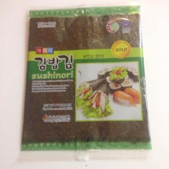2 gói Rong biển hàn quốc cuộn sushi loại thượng hạng 1 gói 10 lá