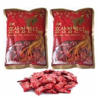 Bộ 2 Gói Kẹo Nhân Sâm Hàn Quốc 300g/Gói
