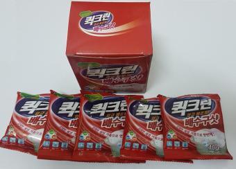 Bột thông tắc đường ống, bồn cầu, khử mùi, diệt vi khuẩn Hàn Quốc (Hộp có 5 túi x 40g/túi)