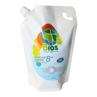 Nước Giặt BIOS đậm đặc 8+ hương Pureness Incense Túi 900g