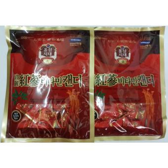 Mua Combo 2 Kẹo Sâm Vitamin Hàn Quốc giá tốt nhất
