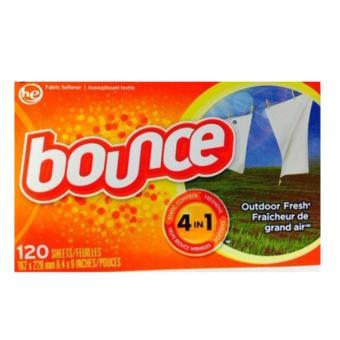 Giấy Xả Làm Mềm Vải Bounce Outdoor Fresh 120 tờ