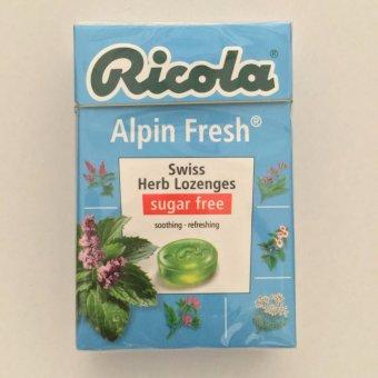 Kẹo thảo mộc Alpin Fresh Ricola Alpin Fresh (Hộp giấy 47g)