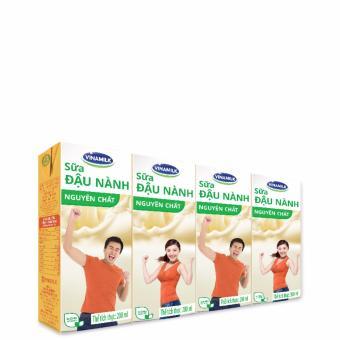 Thùng 48 Hộp Sữa đậu nành Vinamilk Nguyên chất 200ml