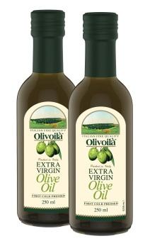 Lô 2 chai dầu Olivoila Extra 250ml
