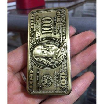 Bật Lửa Khò Hình Đồng 100 Usd