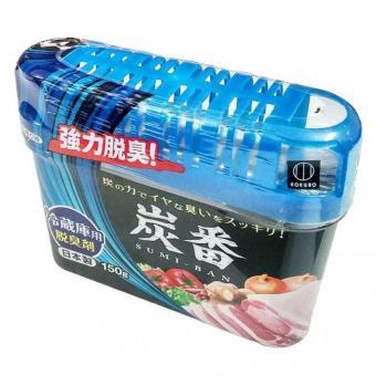 Hộp khử mùi tủ lạnh bằng than hoạt tính Kokubo Nhật Bản 150g