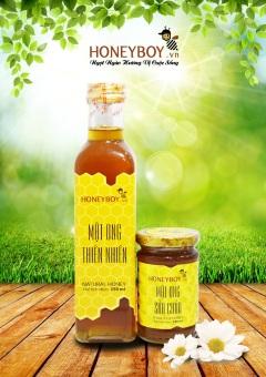 Bộ Mật ong thiên nhiên 250ml và Mật ong sữa chúa 100ml