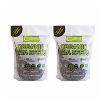 Bộ 2 túi Hạt chia Úc Organic Chia Seeds 1kg