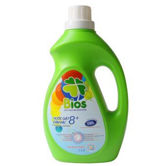 Bộ 06 chai BIOS: nước giặt quần áo 2L, nước rửa chén 500ml, nước lau sàn 1L, nước xịt đa năng 500ml, nước tẩy rửa bồn cầu & nhà tắm 500ml, nước xịt kính 520ml