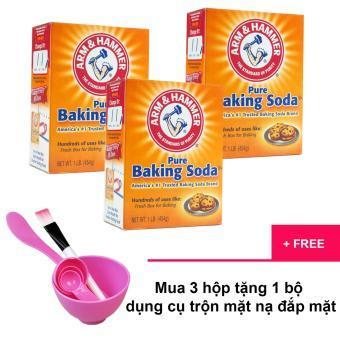 Bộ 3 hộp Baking Soda đa công dụng