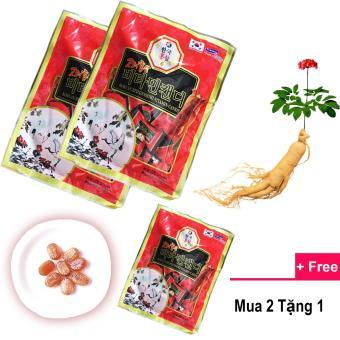 Bộ 2 gói kẹo hồng sâm Vitamin 6 năm tuổi Hàn Quốc