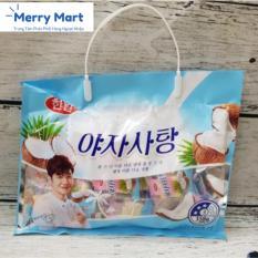 Kẹo Dẻo Trái Cây Hàn Quốc Vị Dừa 358g (Gói)  KDTCHQVD01