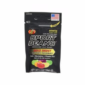 Kẹo hạt đậu Sport Beans Assorted Flavors nhiều hương vị - 28g