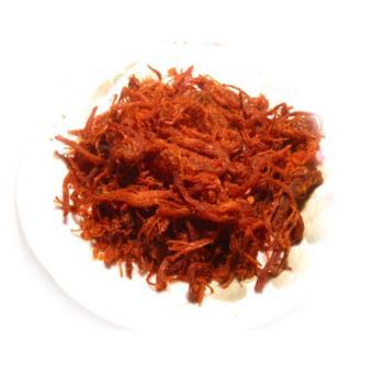 Khô bò cháy tỏi ớt - Sợi dai mềm - 400g