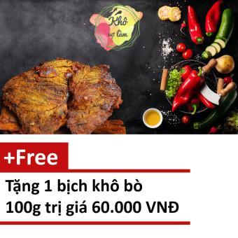 Khô bò miếng đặc sản 1kg tặng 1 bịch 100gr