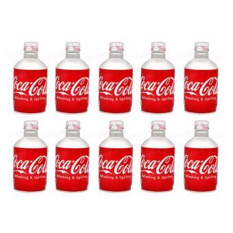 Lốc 10 chai Cocacola Nắp Vặn Nhật Bản 330ml