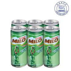 Giá bán Lốc 6 Lon Milo Activ-Go Nước ( 6 lon x 240ml)
