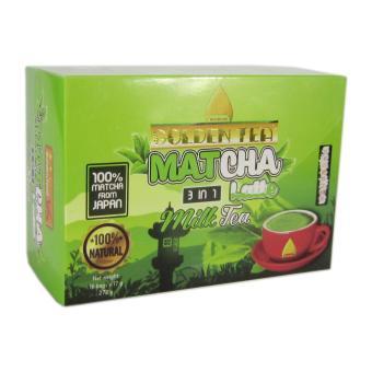 Matcha trà sữa 3in1 Golden Tea hộp 16 gói 272g