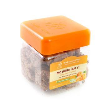 Mơ Hồng Lam 11 Chua mặn ngọt cam thảo hộp 500g