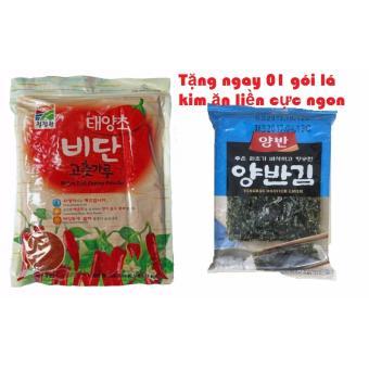 Mua 01 Gói Ớt Bột Hàn Quốc 1Kg Tặng Ngay 01 Gói Lá Kim Ăn Liền CựcNgon