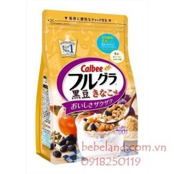 Ngũ cốc Calbee ( hồng, nho, hạt bí đỏ, đậu đen)