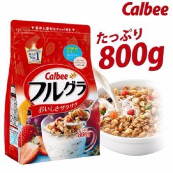 Ngũ cốc sấy khô Calbee 800g