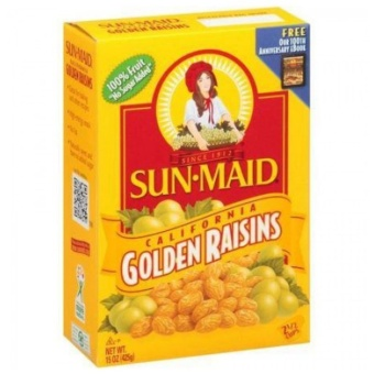 Nho khô Sun-Maid Golden Raisins sấy tự nhiên - 425g
