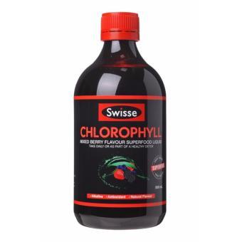Nước diệp lục Swisse Chlorophyll vị dâu 500ml