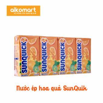 Nước ép trái cây Sunquick thùng 24 hộp