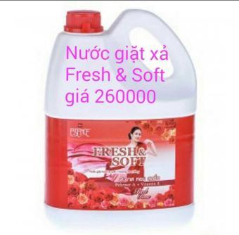 Nước giặt xả Essence Fresh & Soft 3600ml