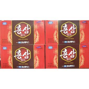Nước hồng sâm Hàn Quốc 40 chai x100 ml-PP bởi Sâm Yến Thái An