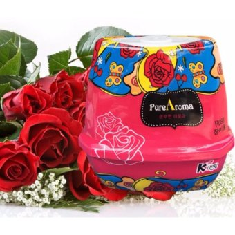 Sáp thơm phòng khử mùi PureAroma Korea ( Hương hoa hồng ) GD108