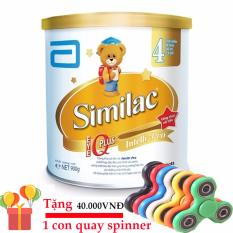 Sữa bột Abbott Similac IQ 4 Hương Vani 900g, cho trẻ từ 2 đến 6 tuổi