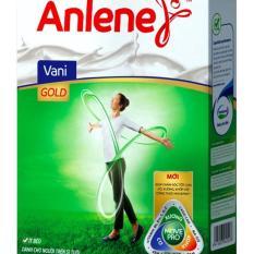 Sữa bột ANLENE Gold vani cho người trên 51 tuổi - Hộp giấy 440g