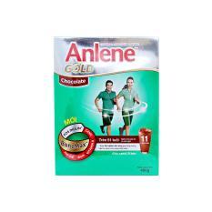 Sữa bột Fonterra Anlene cho người trên 51 tuổi hương sôcôla - Hộp giấy 400g