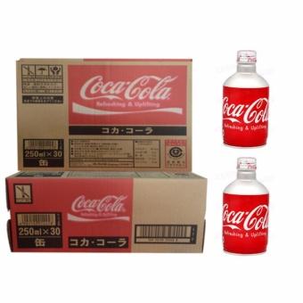 Thùng 24 chai Coca-cola nắp vặn Nhật Bản