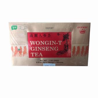 Trà Nhân Sâm Wongin – T Ginseng Tea 200g ( 2g x 100 gói )