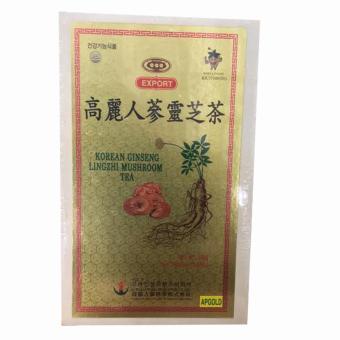 Trà Sâm Linh Chi Hàn Quốc - Korean Ginseng Lingzhi Mushroom Tea HộpGỗ 300g ( 3g x 100 gói ) - 8229221 , KO923WNAA3GM3AVNAMZ-6092031 , 224_KO923WNAA3GM3AVNAMZ-6092031 , 500000 , Tra-Sam-Linh-Chi-Han-Quoc-Korean-Ginseng-Lingzhi-Mushroom-Tea-HopGo-300g-3g-x-100-goi--224_KO923WNAA3GM3AVNAMZ-6092031 , lazada.vn , Trà Sâm Linh Chi Hàn Quốc - Korean